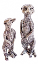 THE NATURAL WORLD  PEWTER ORNAMENTS